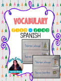 Interactive Notebook / Flip-flaps for practicing vocabulary {SPANISH}