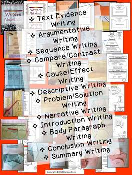 INTERACTIVE WRITING ORGANIZERS AND WRITING PRACTICE