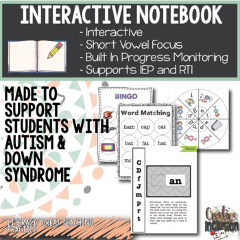 Short Vowel Sounds - Interactive Notebook - BUNDLE