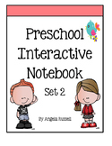 Preschool Interactive Notebook - Set 2