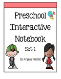 Preschool Interactive Notebook - Set 1