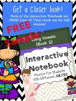 Interactive Notebook For Special Education Free Sample