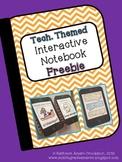 Interactive Notebook Freebie