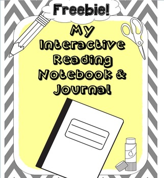 Reading Interactive Notebook Freebie