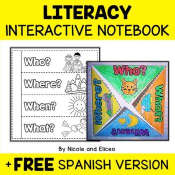 FREE Literacy Interactive Notebook Activities