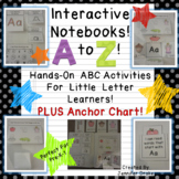Interactive Notebook From A to Z!  ~ABC Journal for Little