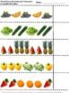 Fruits & Vegetables Food Lap Book