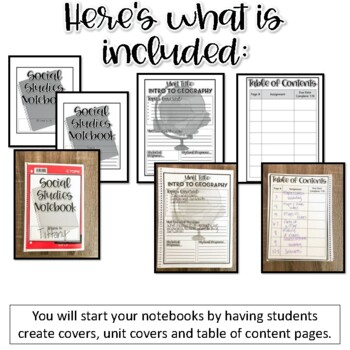 Interactive Notebook-Geography