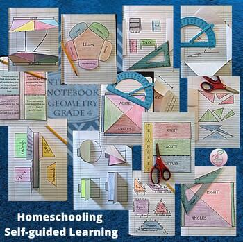 Interactive Notebook Geometry Grade 4