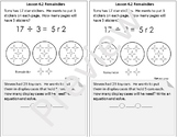 Interactive Notebook Go Math Chapter 4 Notes Grade 4