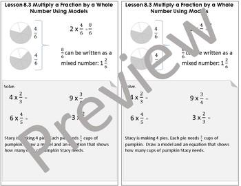 Interactive Notebook Go Math Chapter 8 Grade 4