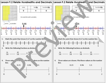 Interactive Notebook Go Math Chapter 9 Notes Grade 4