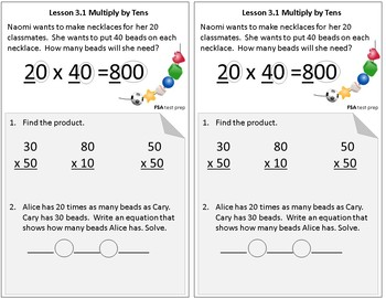 Interactive Notebook Go Math Chapters 1-13 Grade 4