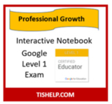 Interactive Notebook - Google Level 1 Exam