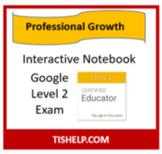 Interactive Notebook - Google Level 2 Exam