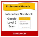 Interactive Notebook - Google Level 2 Exam