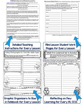 Interactive Notebook: Grade 2 Reading Informational {Cover All Grade 2 RI CCSS}