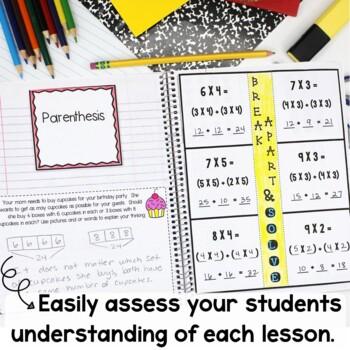 Engage New York Math Interactive Notebook Grade 3 Module 1 Multiplication