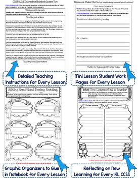 Interactive Notebook: Grade 3 Reading Informational {Cover All Grade 3 RI CCSS}