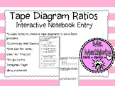Interactive Notebook Guided Notes on Part to Part Ratio Ta