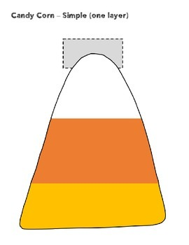 Interactive Notebook - Halloween Edition - Candy Corn Foldable