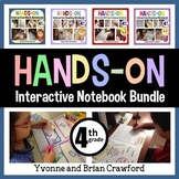 Interactive Notebook Fourth Grade Common Core Bundle