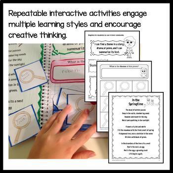 Interactive Notebook Fourth Grade Common Core Bundle