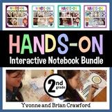 Interactive Notebook Second Grade Common Core Bundle