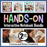 Interactive Notebook Second Grade Common Core Bundle with Scaffolded Notes