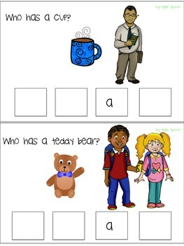 Interactive flip book He/She/They & Have/Has pronouns, sentence creation, syntax
