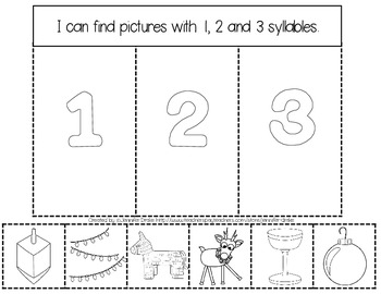 Interactive Notebook: Holidays!  K-1 CC Aligned Activities for Winter Holidays!