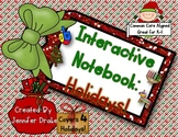 Interactive Notebook: Holidays!  K-1 CC Aligned Activities