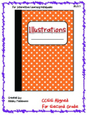 Interactive Notebook: Illustrations RL 2.7 Second Grade