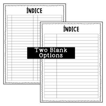 Interactive Notebook Index