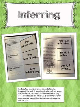 Interactive Notebook Inferring Comprehension Strategy