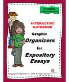 Interactive Notebook Informative Essay Organizers
