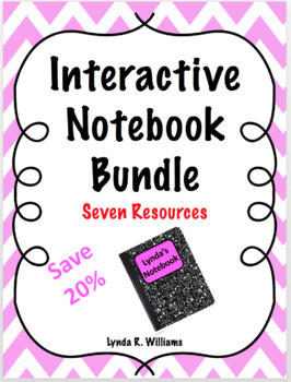 Interactive Notebook Insert Bundle