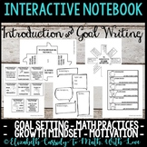 Interactive Notebook - Introduction - Student Goals - Motivation