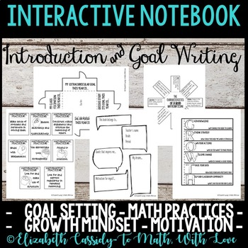 Interactive Notebook - Introduction - Student Goals - Motivation
