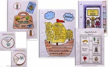 Interactive Notebook / Journal - EXPLORERS - Social Studies (Grades 3-5)