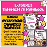 EXPLORERS - INTERACTIVE NOTEBOOK & (DIGITAL / PDF) ANCHOR