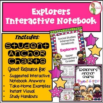 Interactive Notebook / Journal - EXPLORERS - Social Studie