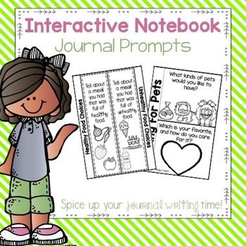 Interactive Notebook Journal Prompts