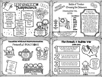 Interactive Notebook / Journal - REVOLUTIONARY WAR - Social Studies (Gr. 3-5)