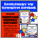 INTERACTIVE NOTEBOOK / ANCHOR CHARTS - REVOLUTIONARY WAR COMBO