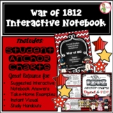 THE WAR of 1812 - INTERACTIVE NOTEBOOK & ANCHOR CHARTS COMBO (Grades 3-5)