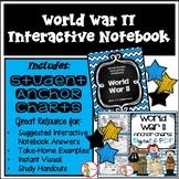 WORLD WAR 2 (WW2)  - INTERACTIVE NOTEBOOK & (DIGITAL & PDF