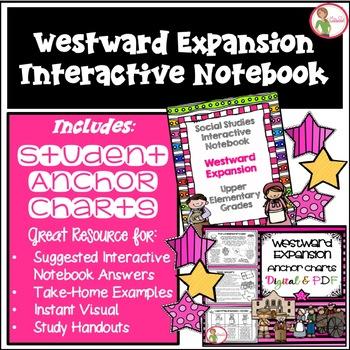 Interactive Notebook / Journal - Western Expansion - Social Studies (Gr. 3-5)