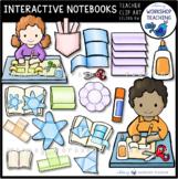 Interactive Notebook Kids Clip Art