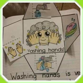 Interactive Notebook Science: Handwashing (Spanish and English)